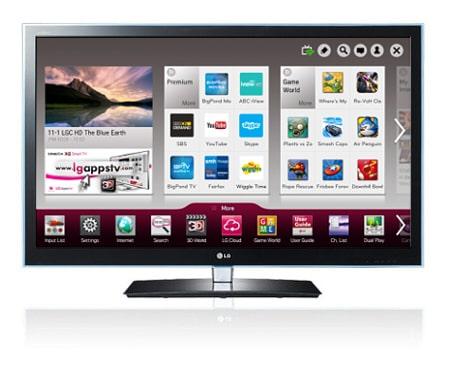 LG 65LW6500 TV Descargar Controlador
