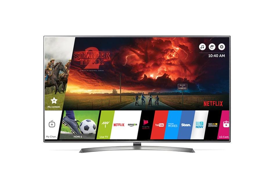 lg smart tv uhd 4k 43 inch tv lg australia. Black Bedroom Furniture Sets. Home Design Ideas