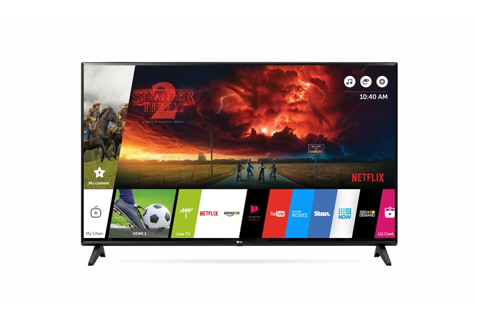 Lg Smart Tv Full Hd 43 Inch Tv Lg43lj550t Lg Australia