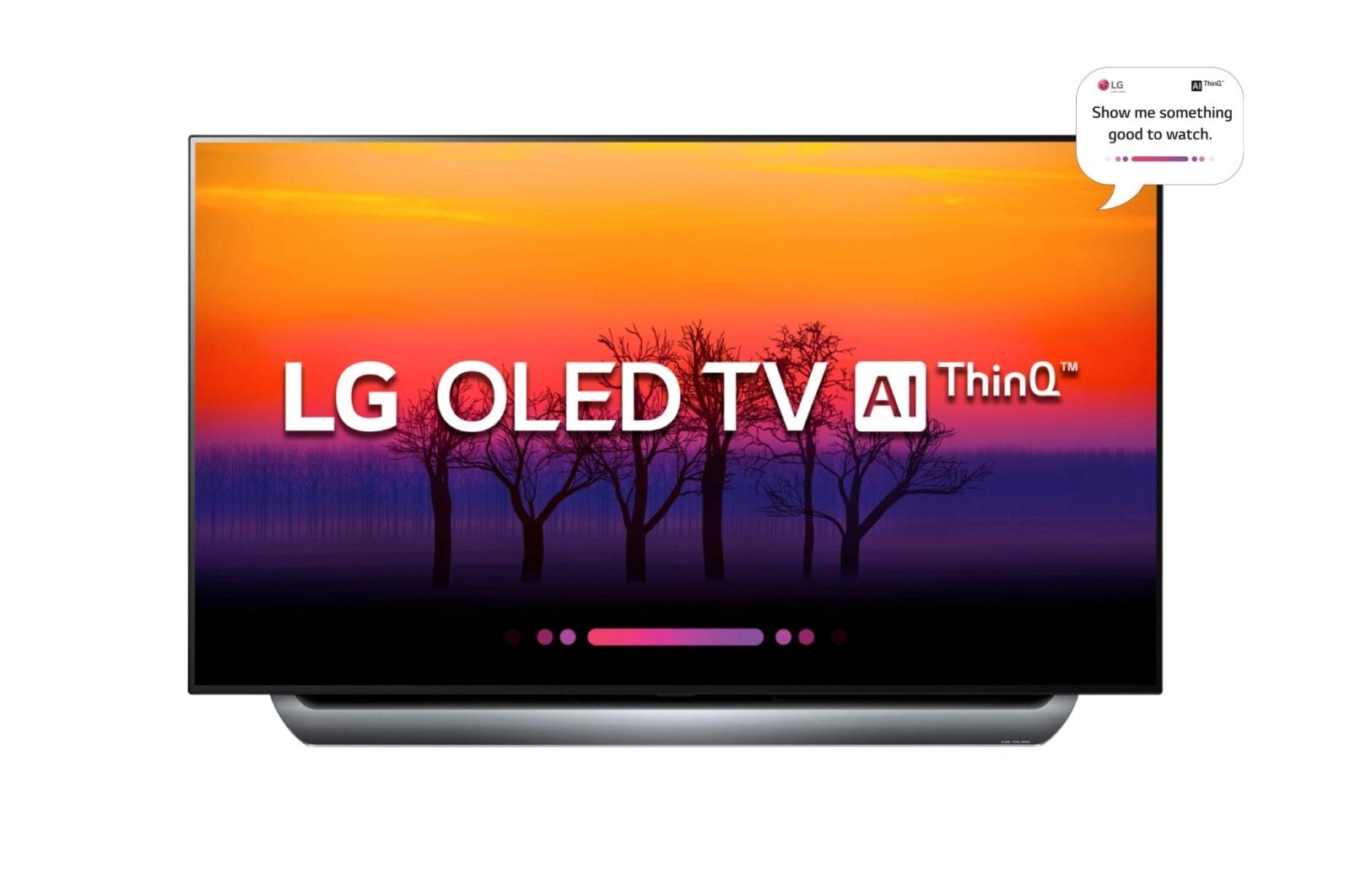 LG OLED AI ThinQ™ TV C8 | OLED 55 TV | LG Australia
