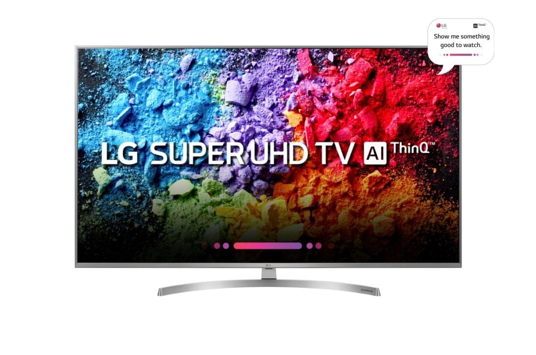 Lg Super Uhd 4k Ai Thinq Tv 49 Inch 49uk7550pta Lg Australia