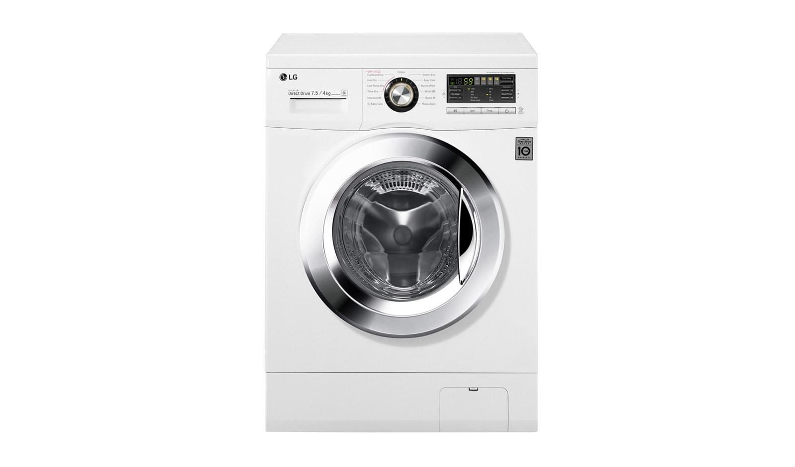 LG WD1402CRD6 - 7.5kg/4kg Front Loader Washing Machine/Dryer   LG Australia