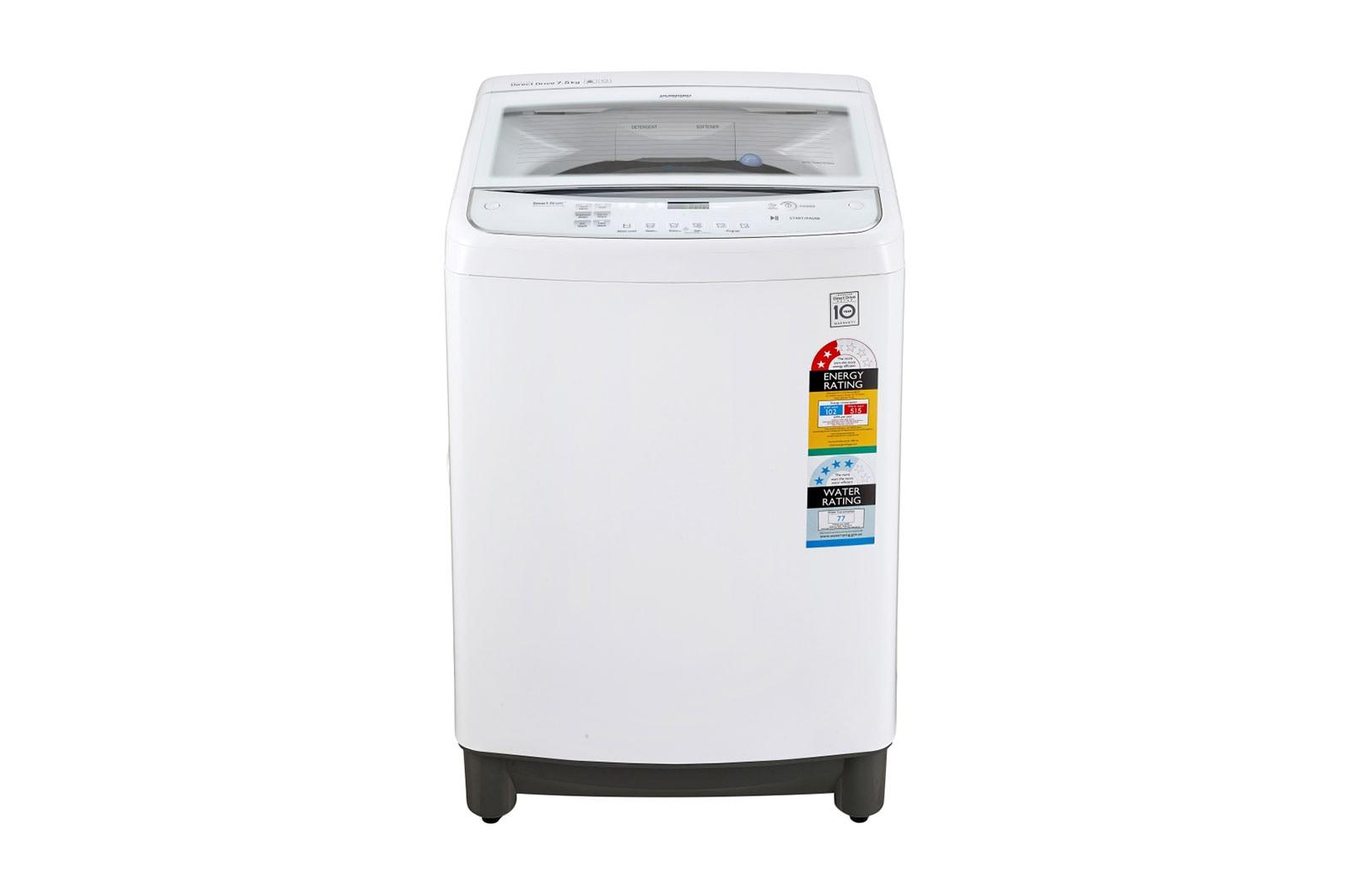 Lg Top Load Washing Machines Wtg7532w Loader Australia