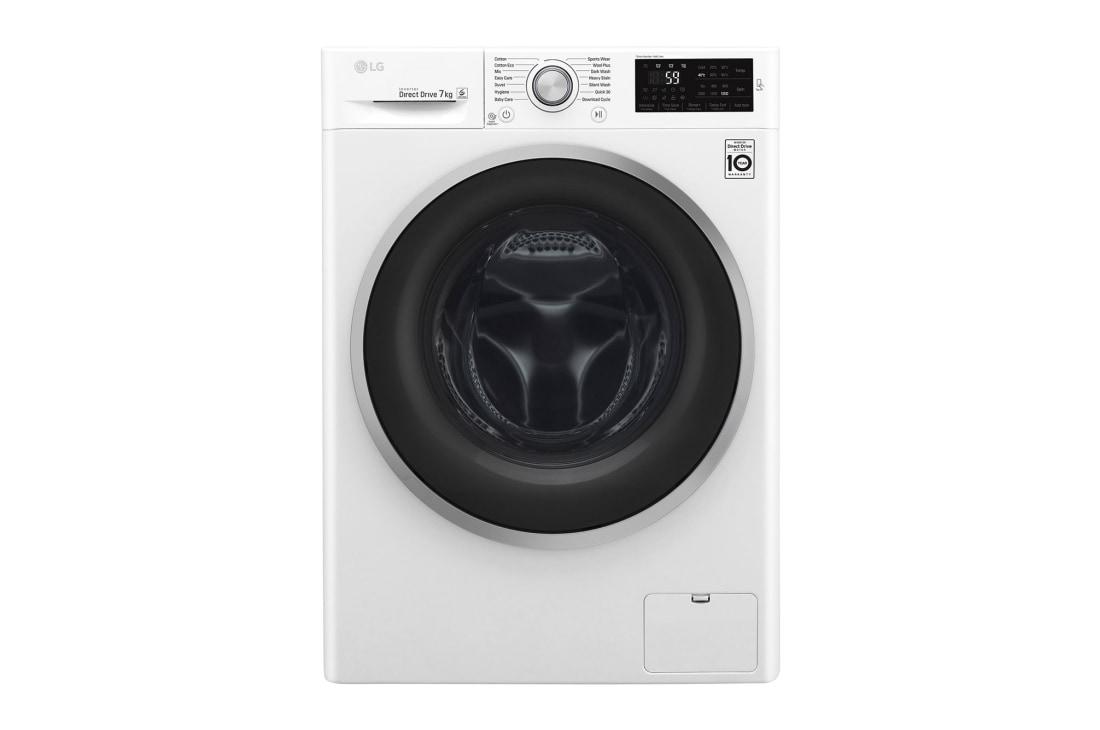 Lg Front Load Washing Machines Wd1207ncw 7kg Front Loader Lg Australia