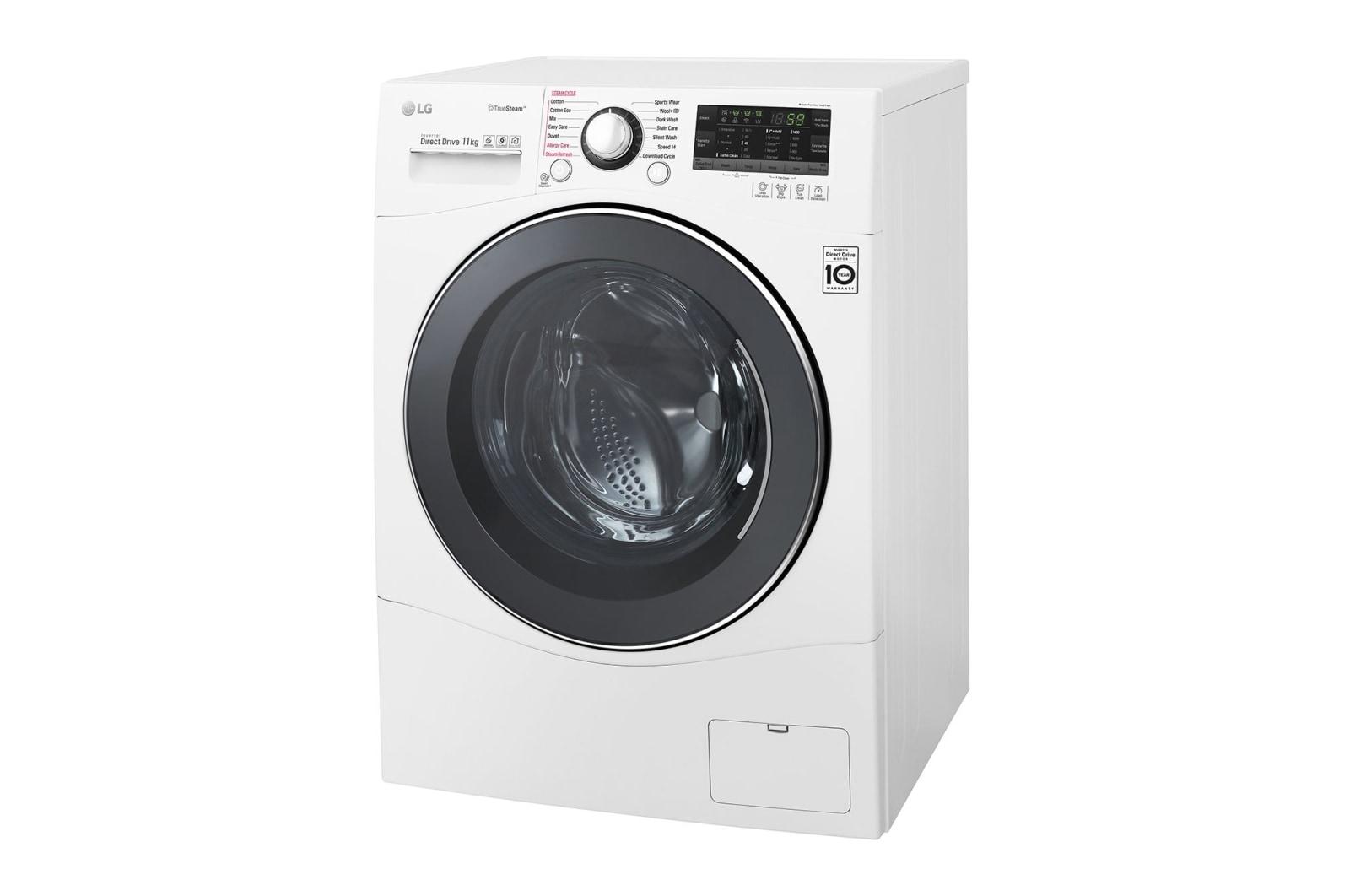 LG Front Load Washing Machine | WD1411SBW 11kg Front Loader | LG Australia