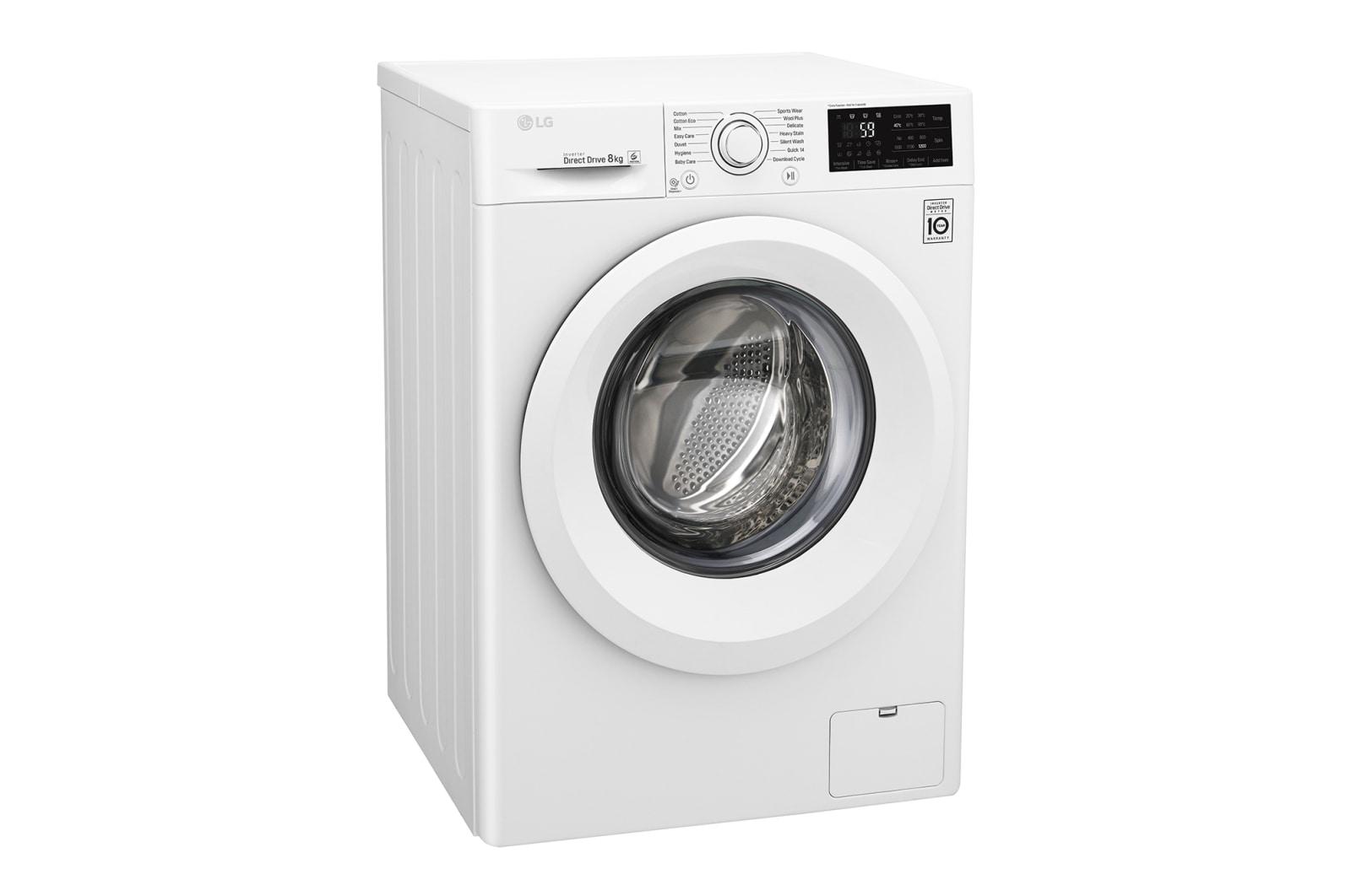 LG Front Load Washing Machines | WD1208TC4W Front Loader | LG Australia