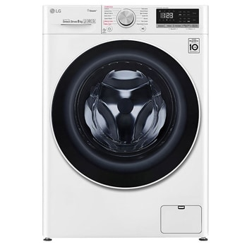 8kg Front Load Washing Machine with Steam1