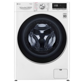 9kg Front Load Washing Machine with Steam+1