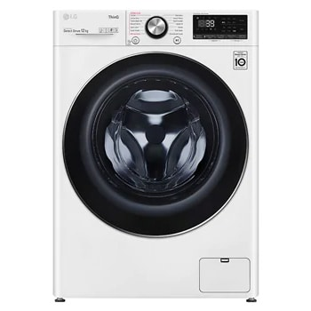 12kg Front Load Washing Machine with Steam+1