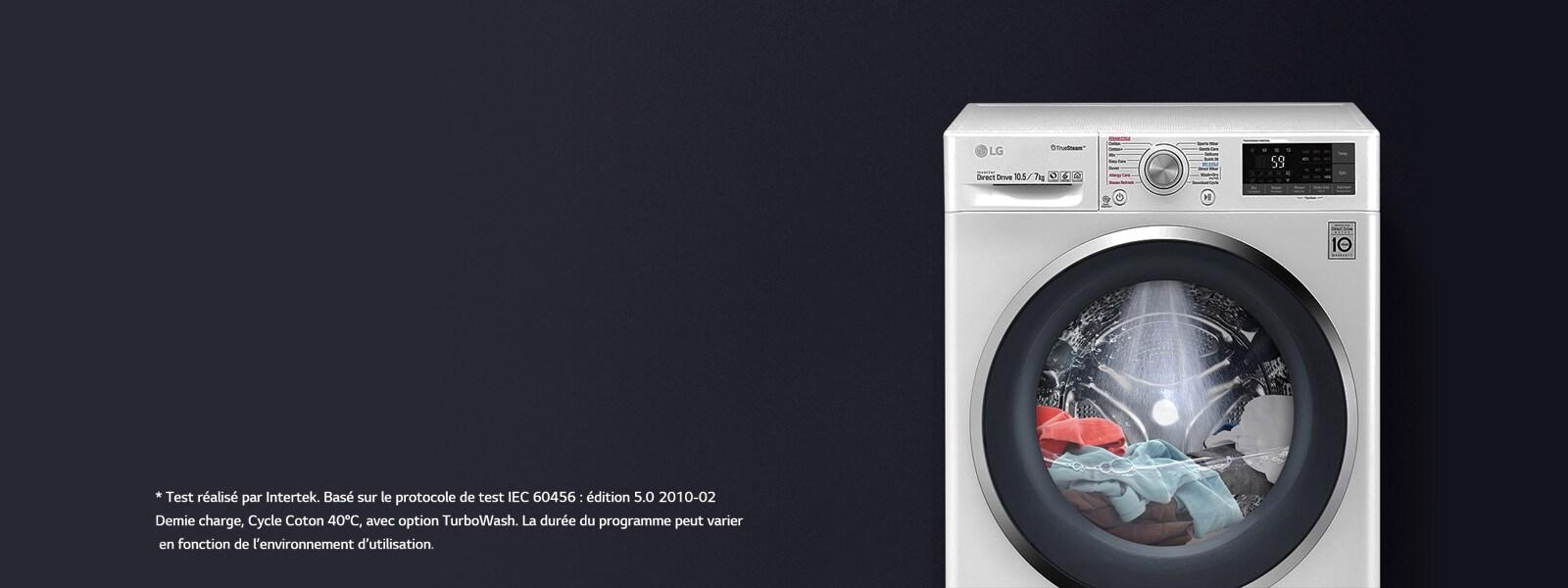 Nettoyer Machine À Laver Le Linge lave linge à vapeur - machine à laver truesteam | lg belgique