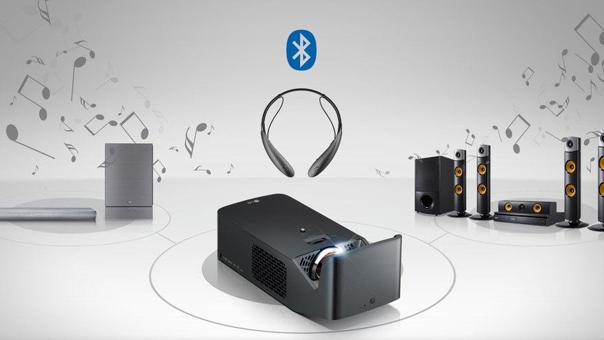 Безжична звукова система с предаване на звук по Bluetooth