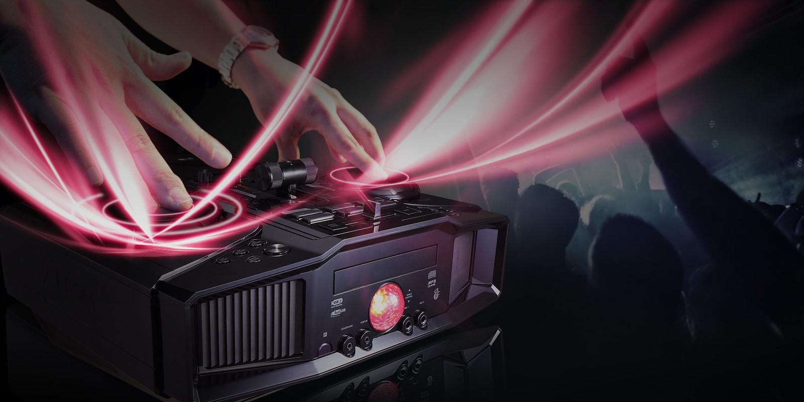 Efeitos de DJ 1