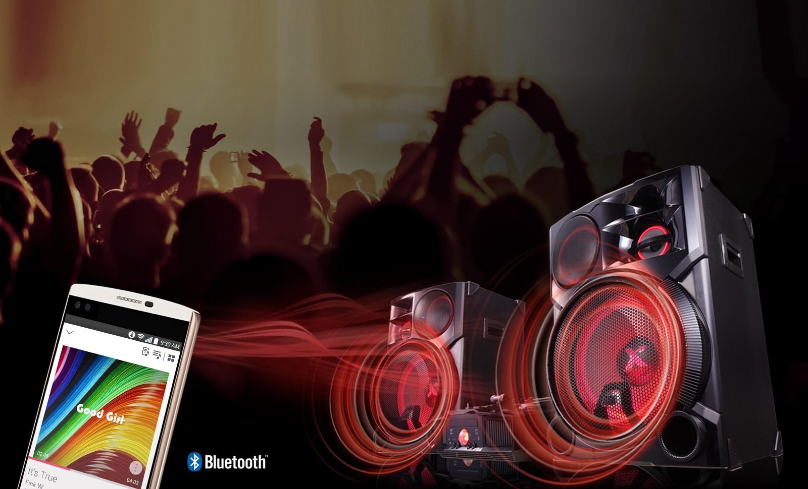 Aplicativo LG Music Flow Bluetooth