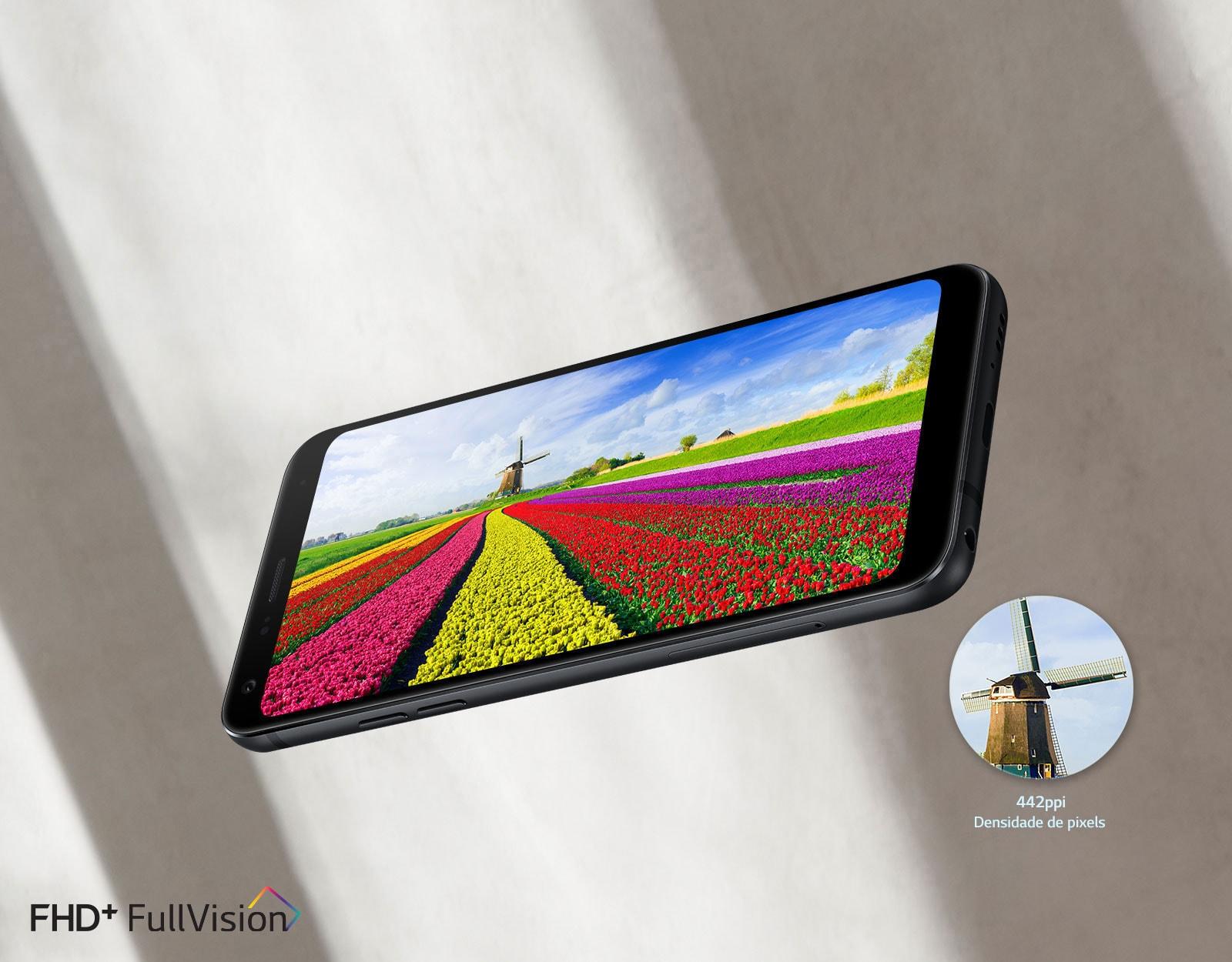Tela FullVision Aproveite ao máximo uma tela de 18:9