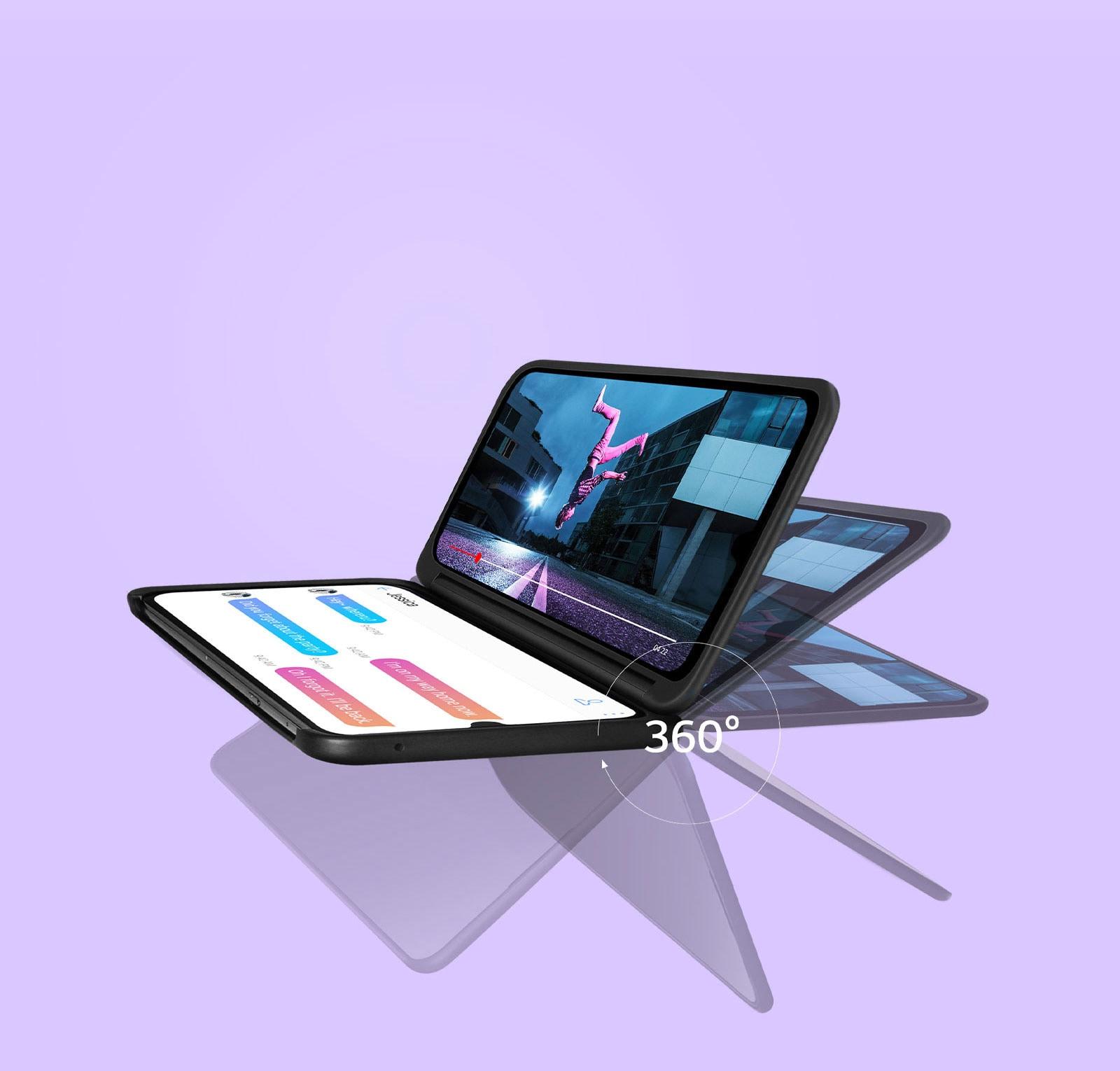 LG G8X - Dual Screen 360°
