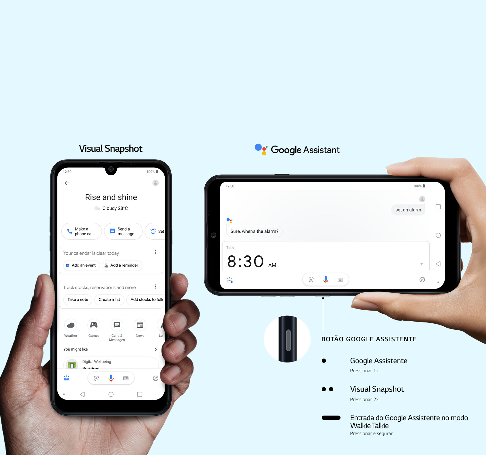 MC-K40S-NewAuroraBlack-09-Google-Assistant-Button-Desktop