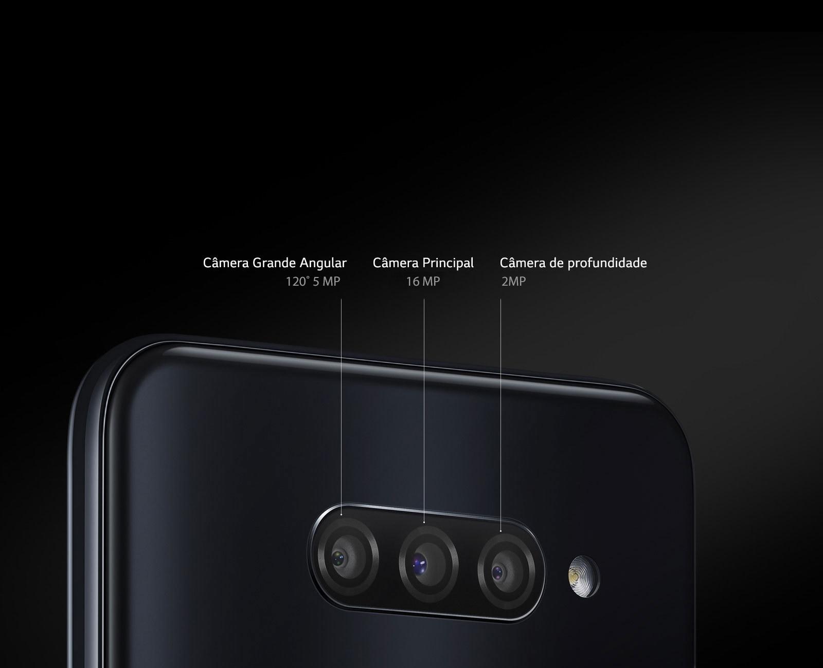 Câmera tripla
