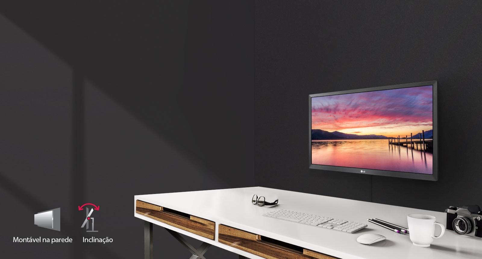 Monitor com ótima ergonomia