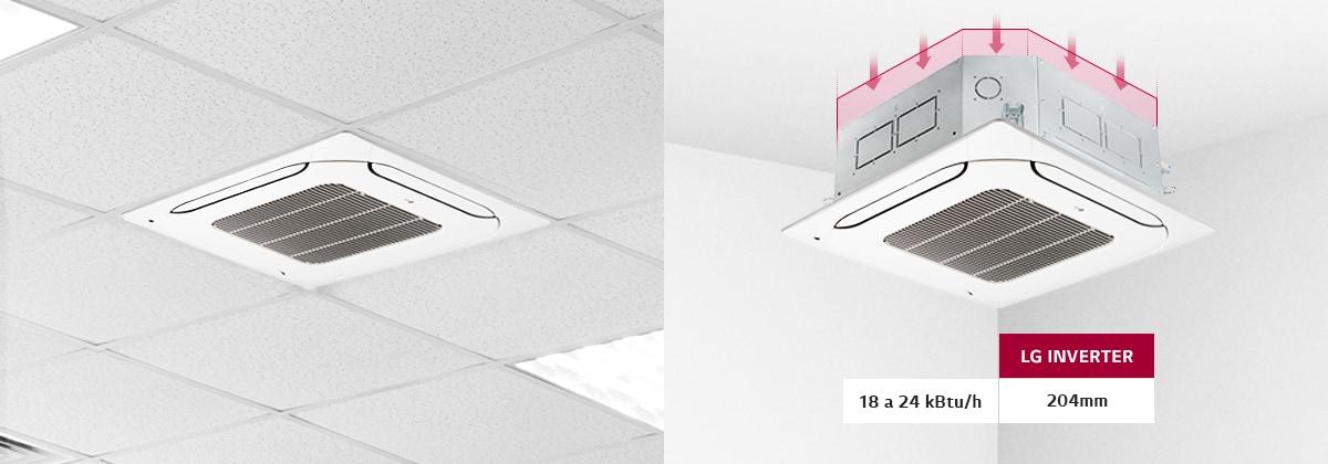Cassete Inverter LG