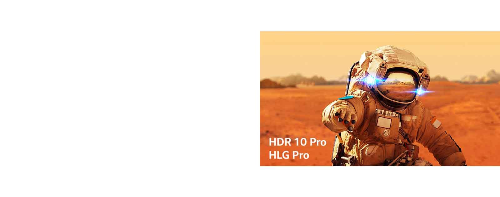 Não viva no passado. Aproveite as atualizações dos principais formatos em HDR.1