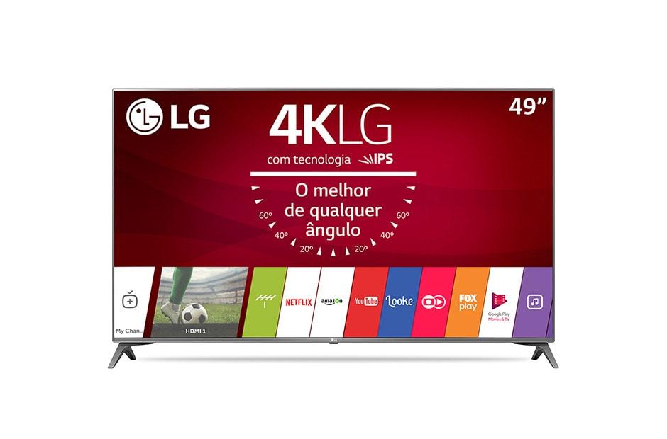 2e9e90d9c 49 Smart TV LED 4K LG 49UJ6565 - de Alto Desempenho