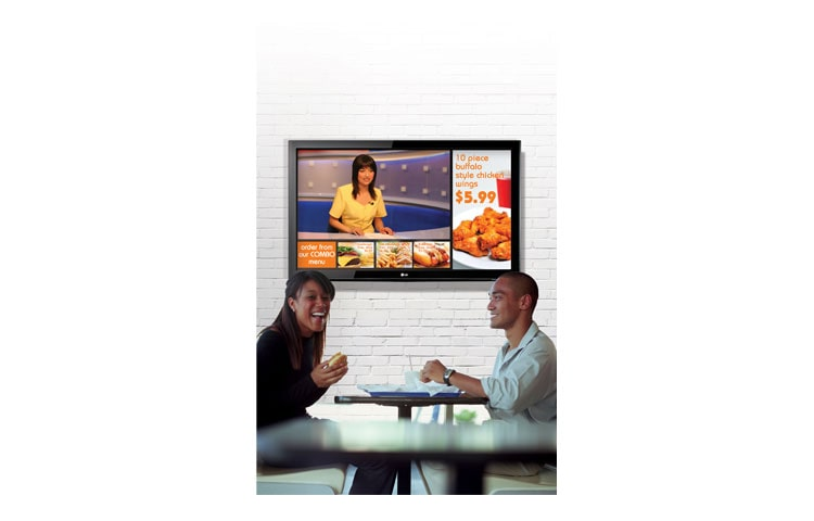 how to create digital signage with lg tv