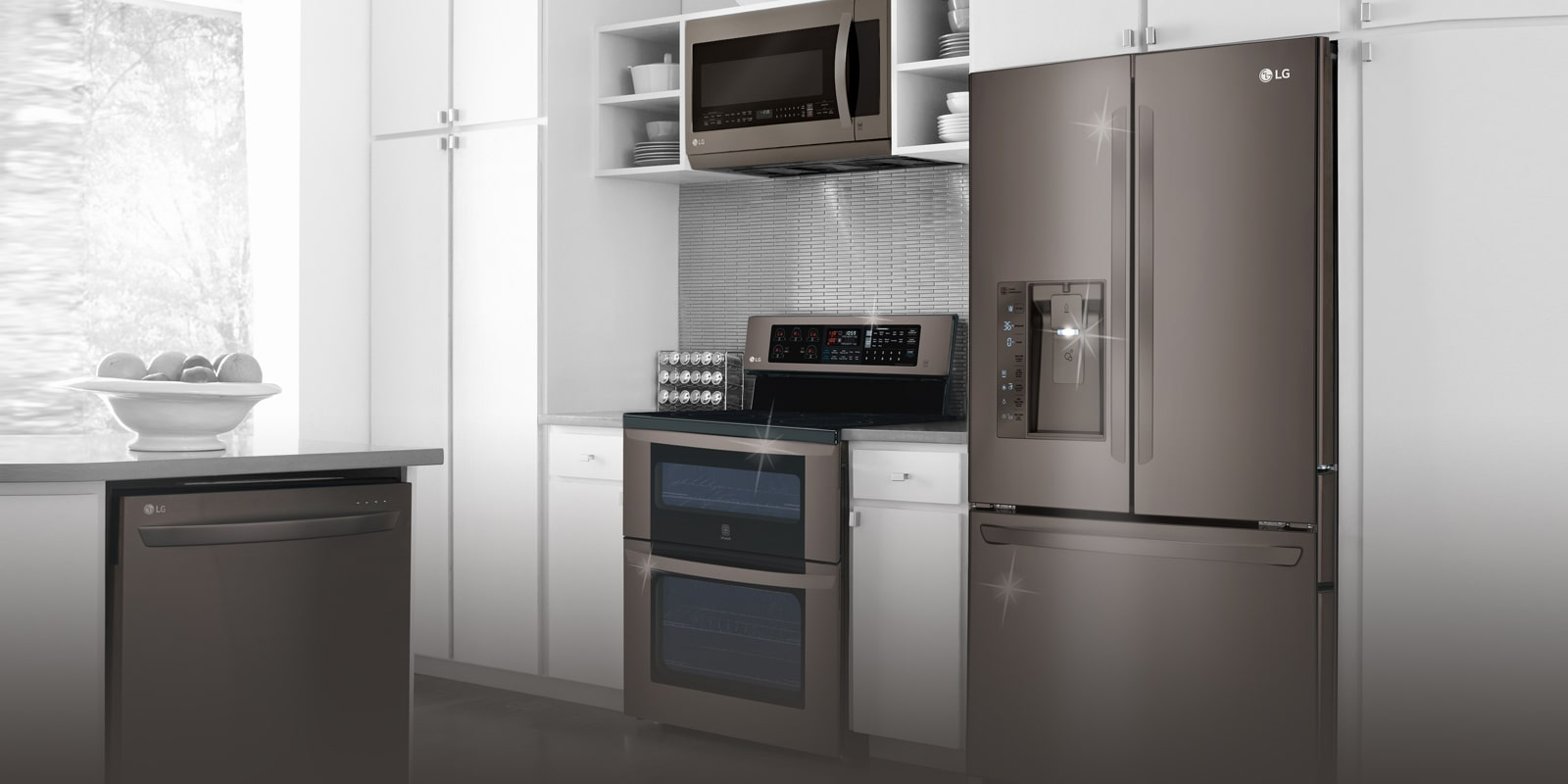 LG Black Stainless Steel Series