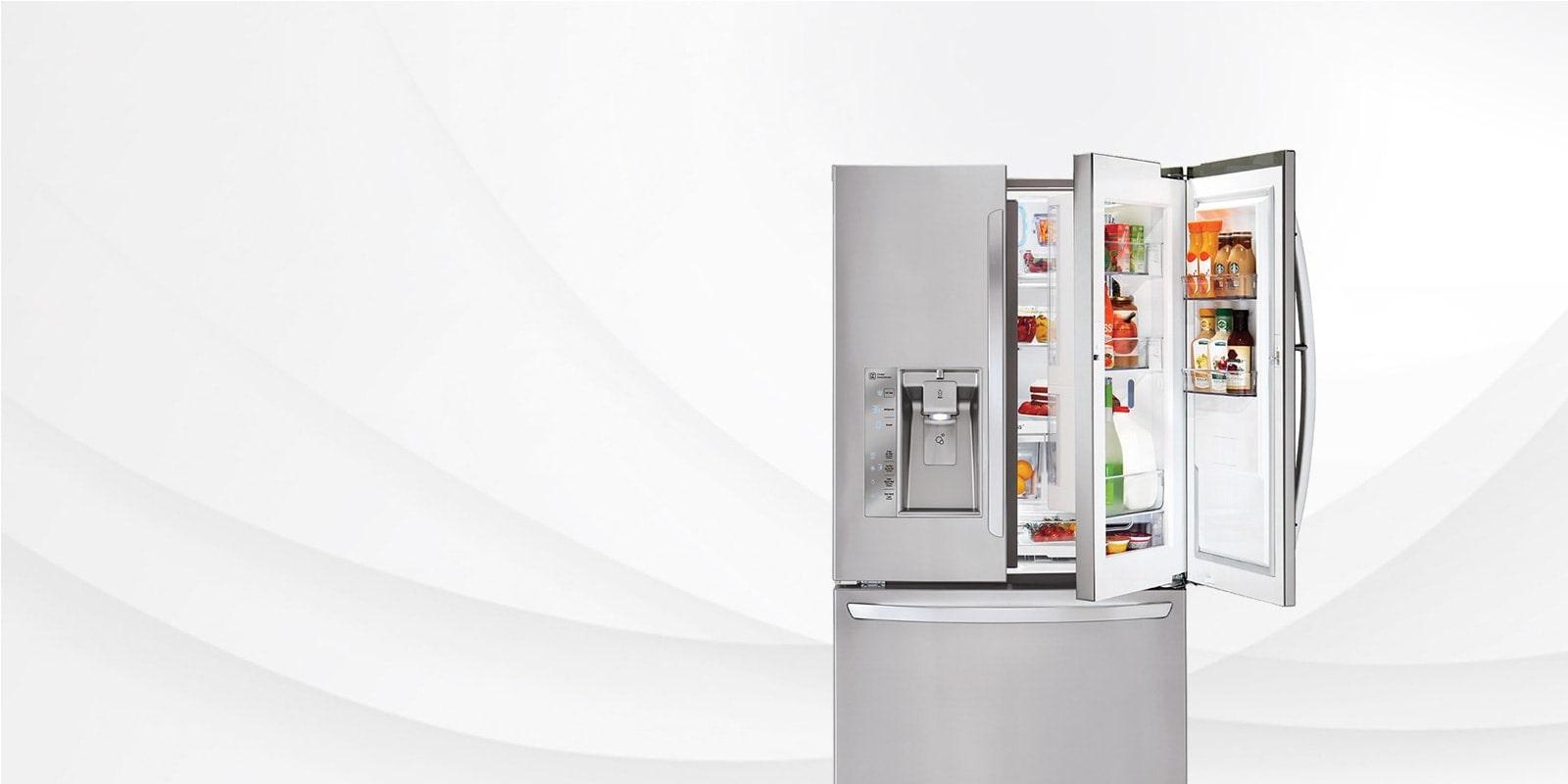 LG Smart Cooling & French Door Counter Depth Fridges | LG Canada