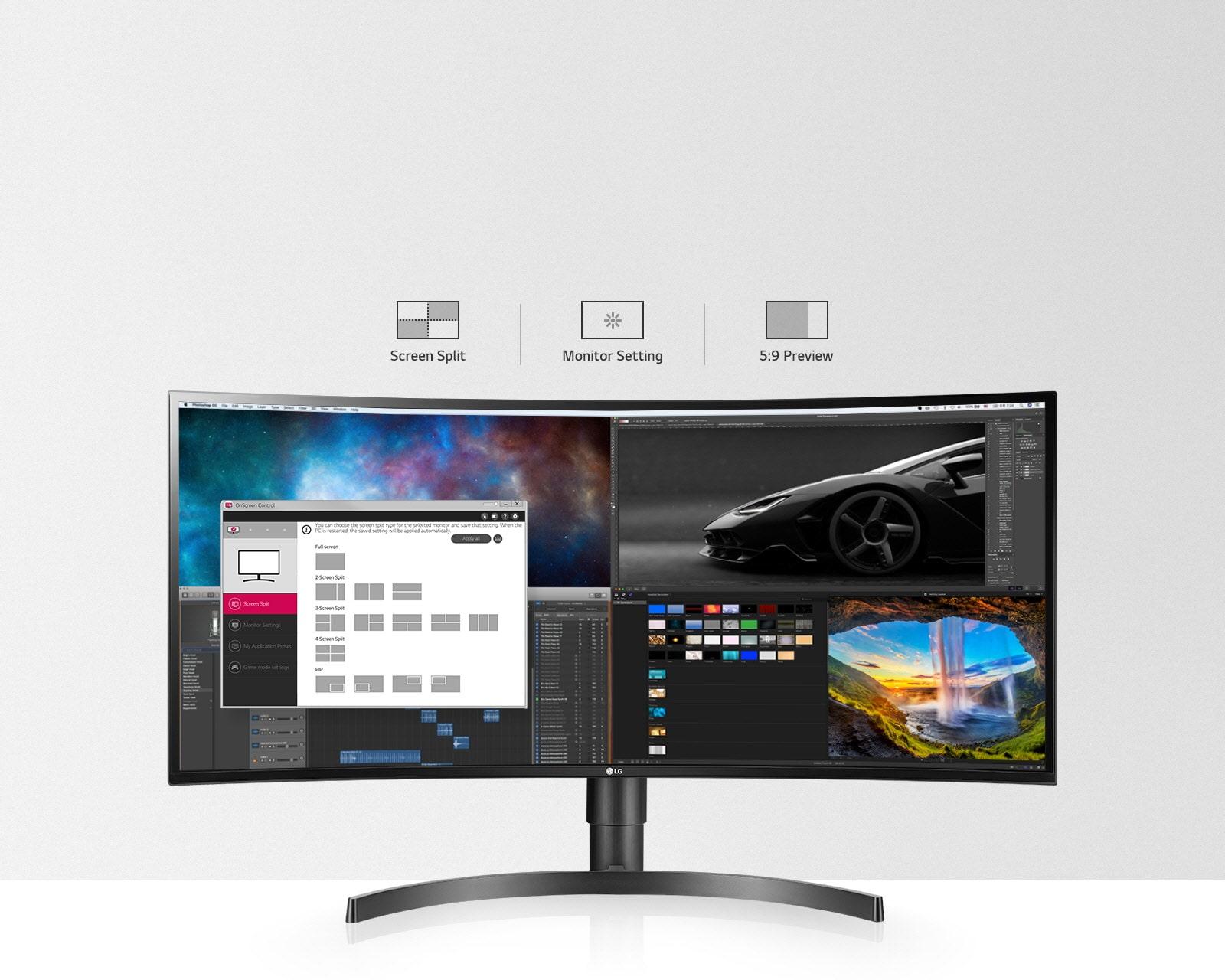 MNT-34WL85C-05-1-OnScreen-Control-Desktop