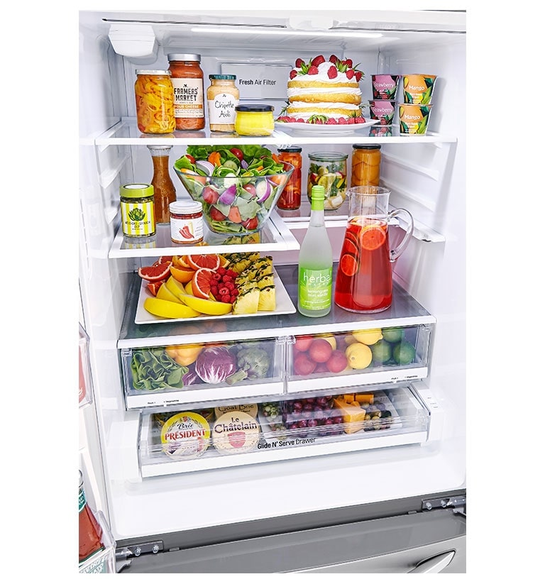 Lg 33 French Door Refrigerator With I W Dispenser Lg Canada