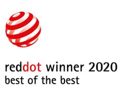 Red Dot Design Award 2020 best of the best logo