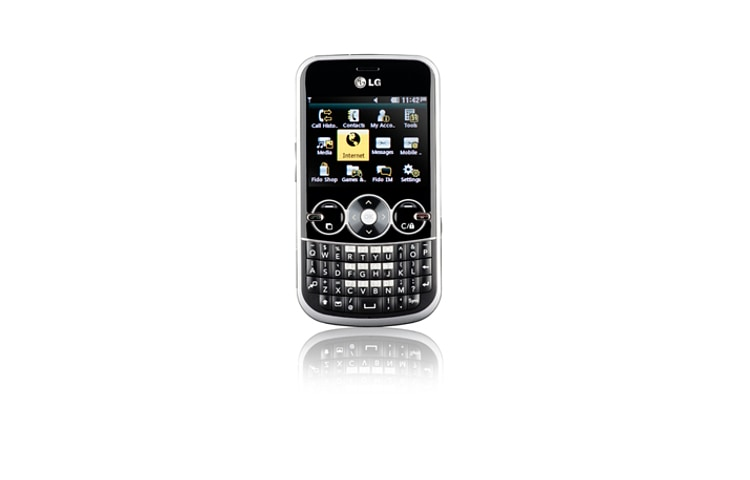 LG Cell Phones Gossip | Full Qwerty Keypad and 2.4 inch screen, threaded SMS, MP3, Bluetooth, easy photo and video thumbnail 2