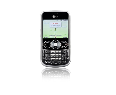 LG Cell Phones Gossip | Full Qwerty Keypad and 2.4 inch screen, threaded SMS, MP3, Bluetooth, easy photo and video 1
