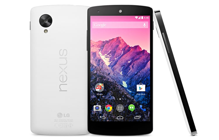 LG Cell Phones Nexus 5 | The slimmest and fastest Nexus smartphone ever made, powered by the new Android™ 4.4, KitKat®. thumbnail 1