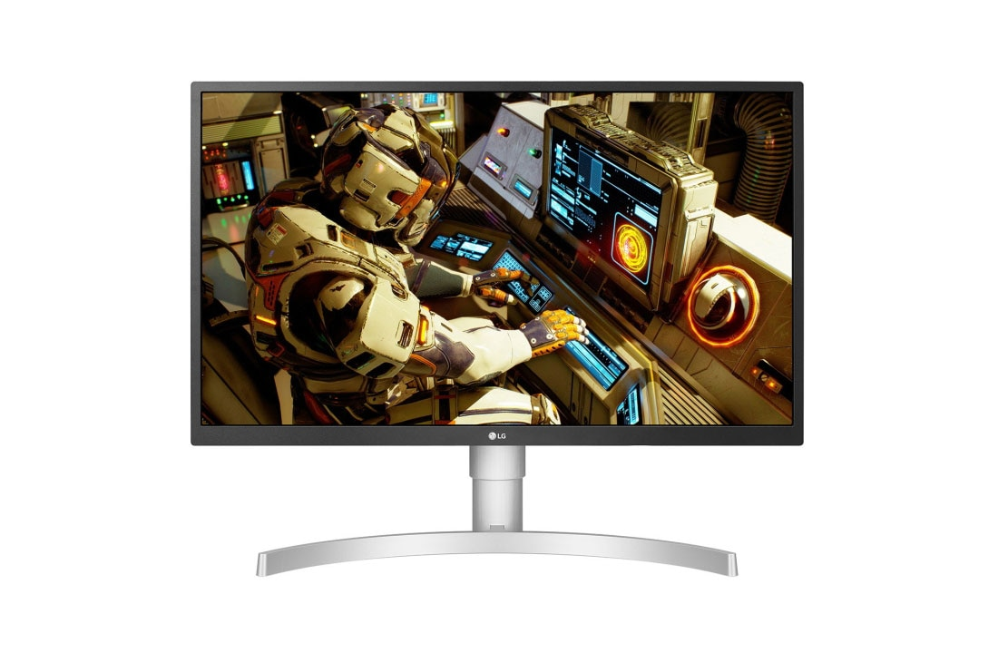 """LG 27"""" Class 4K UHD IPS LED HDR Monitor with Adjustable"""