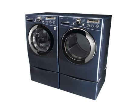 Lg Dryers Navy Blue Electric Steam Dryer Lg