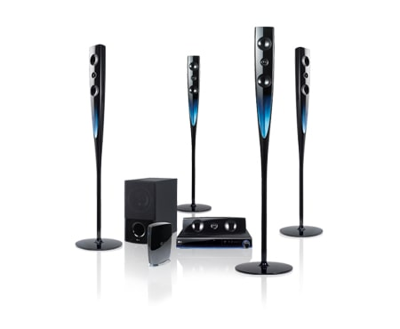 lg 1000w audio output 4 champagne speakers wireless rear. Black Bedroom Furniture Sets. Home Design Ideas