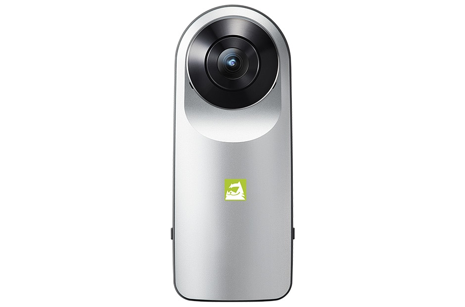 The LG 360 CAM lets you seamlessly capture the world around you with one click 1
