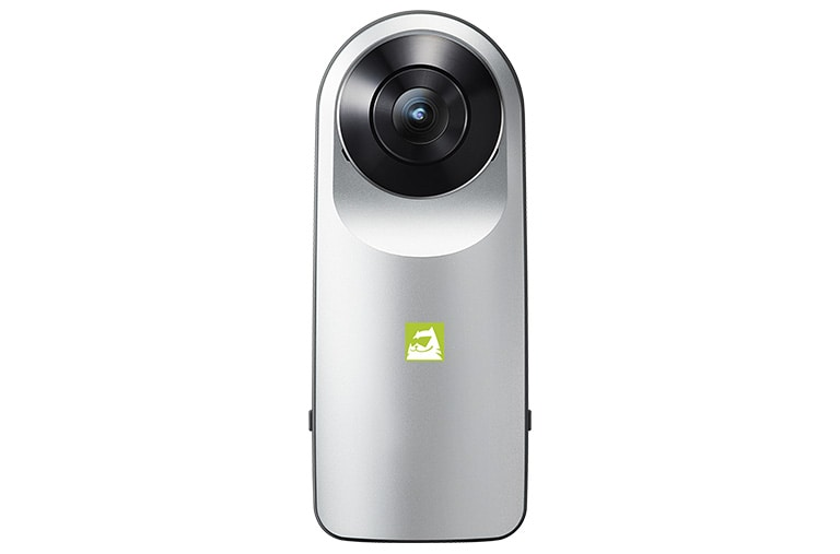 The LG 360 CAM lets you seamlessly capture the world around you with one click thumbnail 1