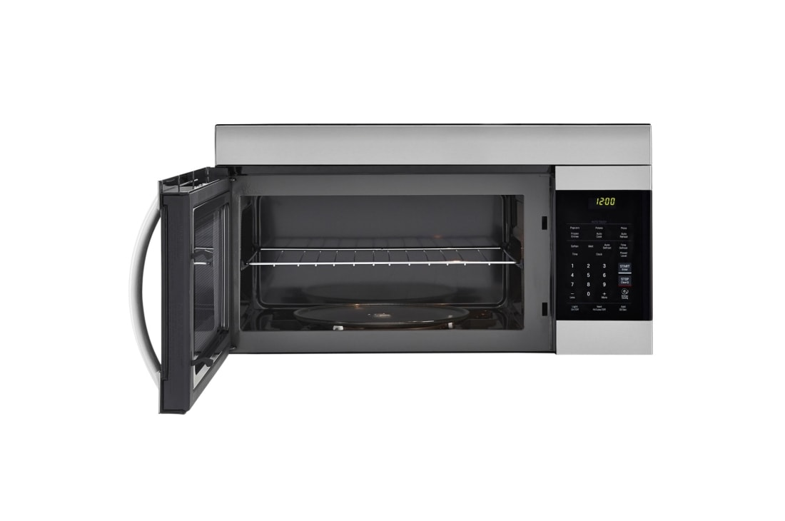 Sensational Lg 1 7 Cu Ft Over The Range Microwave Oven With Easyclean Interior Design Ideas Grebswwsoteloinfo