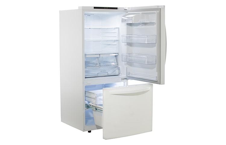 lg ldns22220  bottom freezer refrigerator