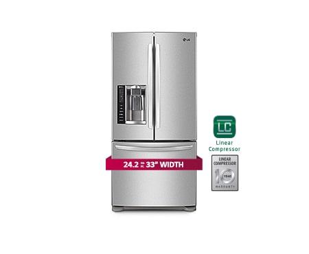 Lg Refrigerators Lg Lfx25778st French 3 Door