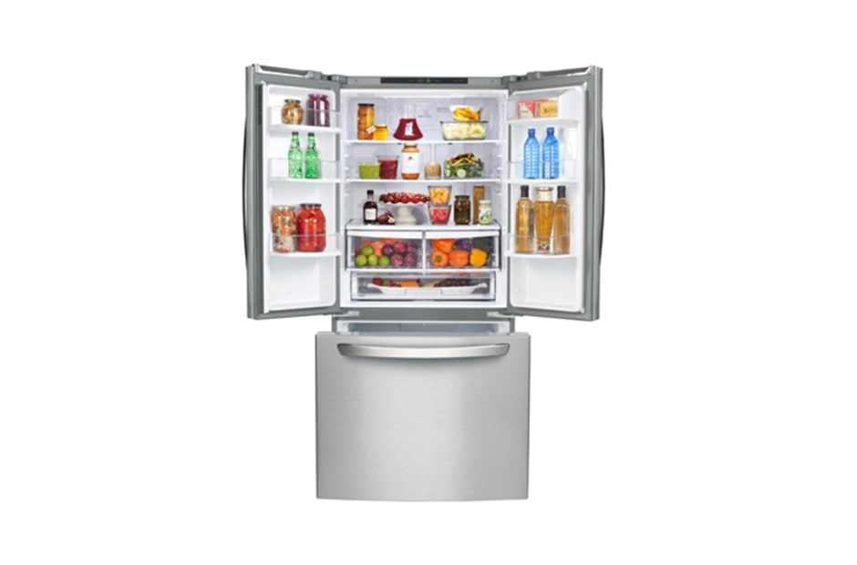 Lg Lfc24786st 33 Inch 24 Cu Ft French Door Refrigerator With
