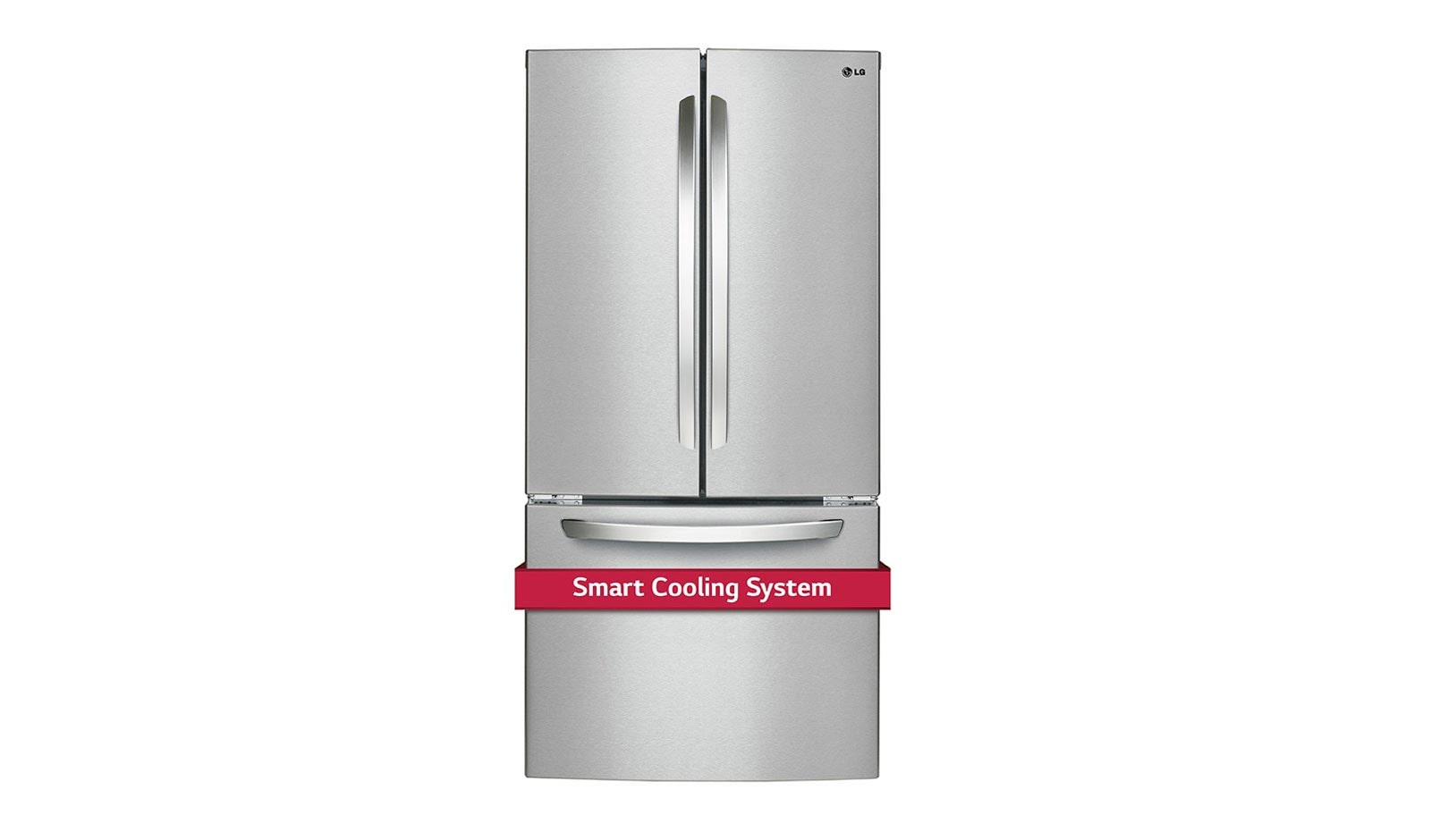 LG LFC24786ST: 33 Inch, 24 cu. ft. French Door Refrigerator with Smart  Cooling | LG CANADA