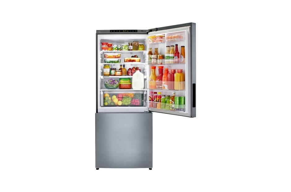 Lg Bottom Freezer Refrigerator Lbnc15221v 28 Inch 14 7 Cu Ft