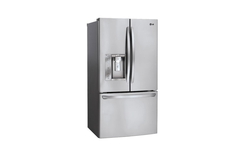 unusual refrigerator lg double door. LFXS24623S 1  2 LG BOTTOM FREEZER REFRIGERATOR 33 INCH 24 CU FT