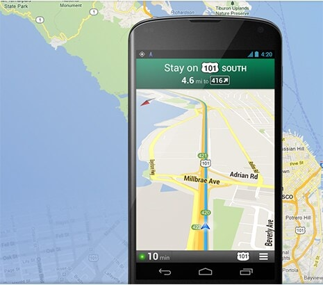 <span>NAVIGATE YOUR WORLD</span> WITH GOOGLE MAPS