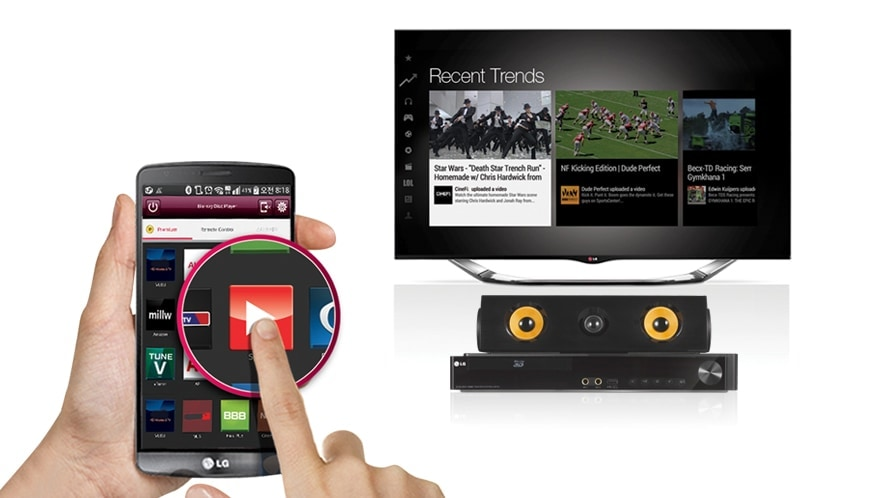 Direct Access to Online  Content with Remote App