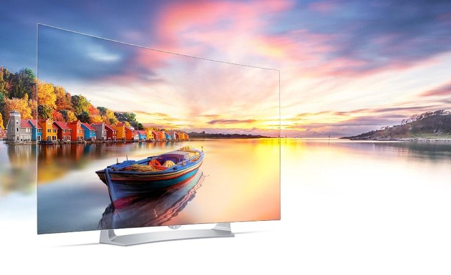 "LG 55"" CURVED OLED 3D SMART TV"