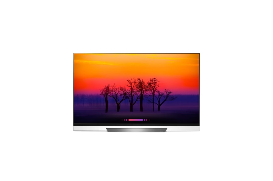 LG OLED65E8PPUA: E8 65 Inch OLED 4K Glass TV at CES 2018